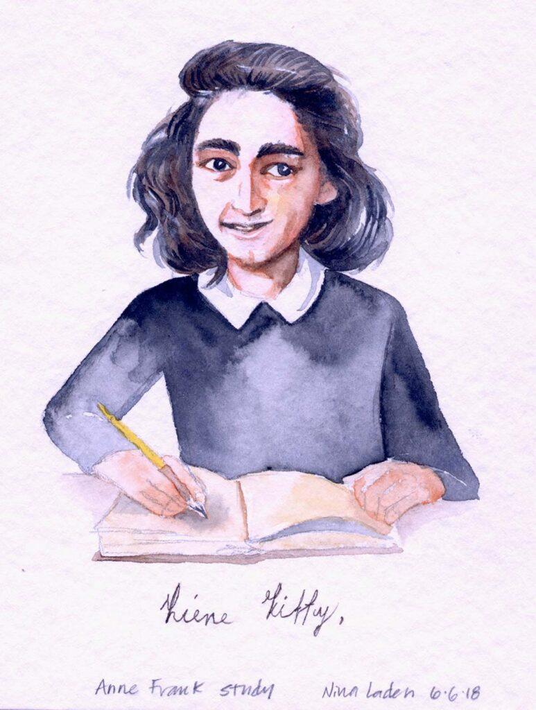 """Anne Frank"" study"