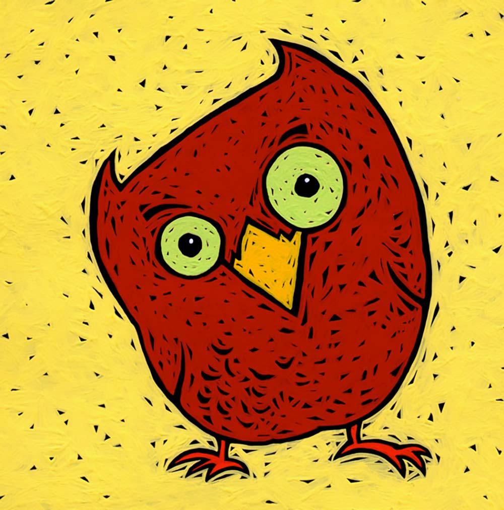 """Peek-a Who Owl"" from ""Peek-a Who?"""