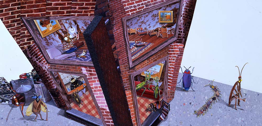 """""""The Flea Bag Hotel"""" from """"Roberto the Insect Architect"""""""